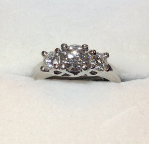 0.60ct Platinum Diamond Ring