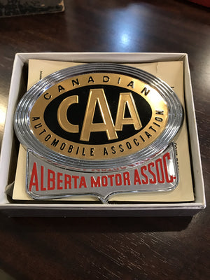 Canadian Automobile Association Metal Emblem