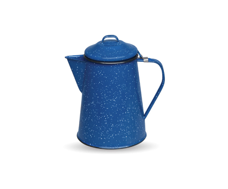 Linea Peltre Azul Real Nevado Cafetera 3/4 de 600 ml Cns