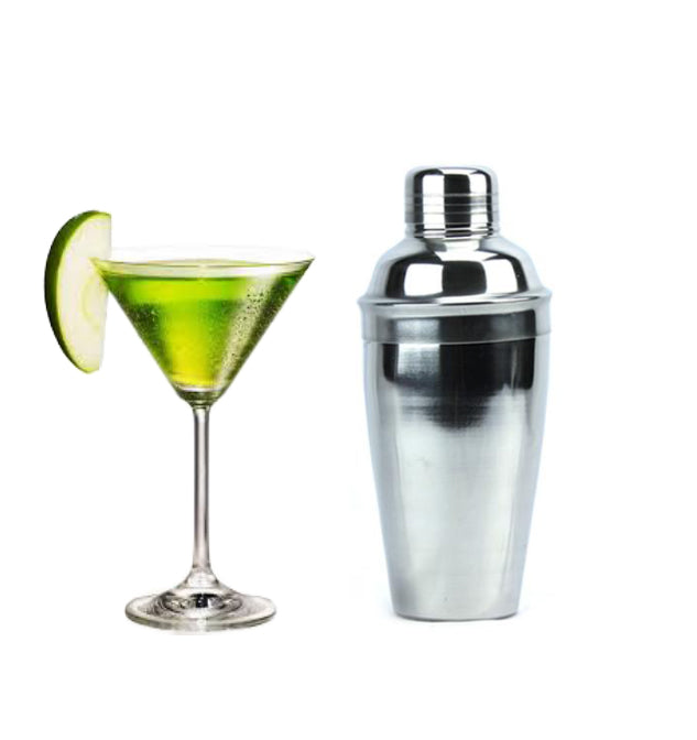 Cocktelera Shaker Bar de Acero Inox 10 oz Boston Deluxe Set TRV