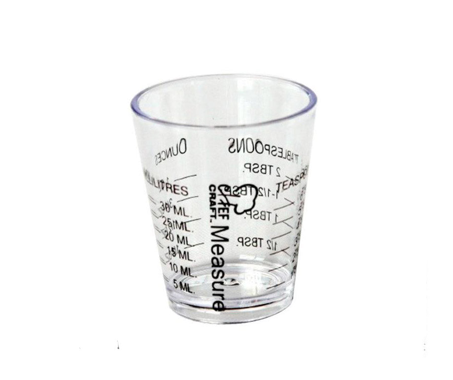 Vaso Medidor Jigger de 30 ml Chef craft