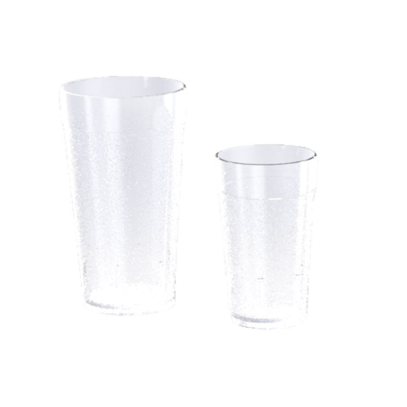 Vaso de Plastico Hotelero Mini 5.5 Oz/162 ml Natural Caja c/180 pzas PTTH