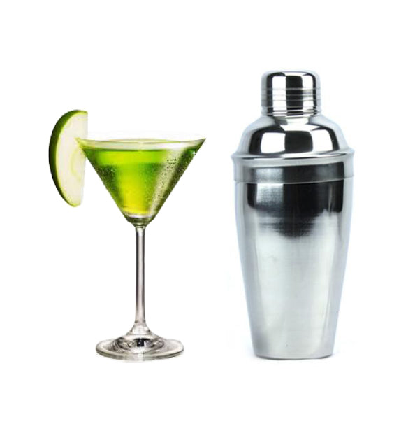 Cocktelera Shaker Bar de Acero Inox 17 oz Boston Deluxe Set