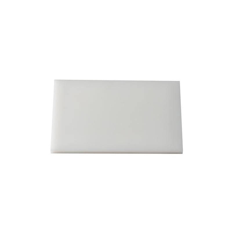 Tabla Placa de Corte 22x15x0.5cm Blanca TCP