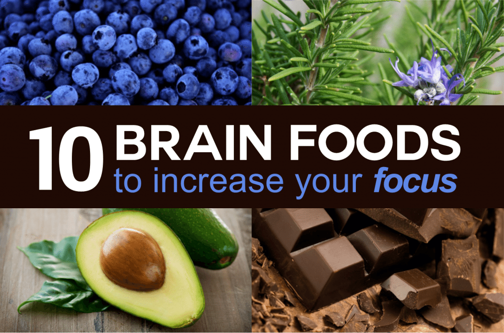 10 Brain Foods to Increase Your Focus