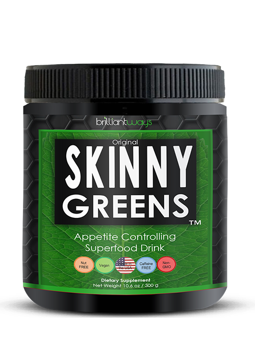 Skinny Greens - 25 superfoods and 7 Servings of Green Vegetables