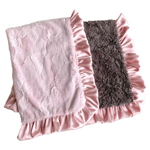 Dusty Rose Blanket