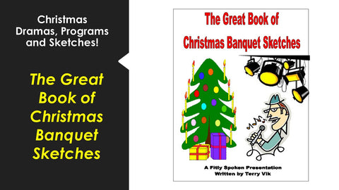 The Great Book of Christmas Banquet Sketches!
