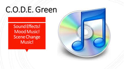 Sound Effects CD - C.O.D.E. Green