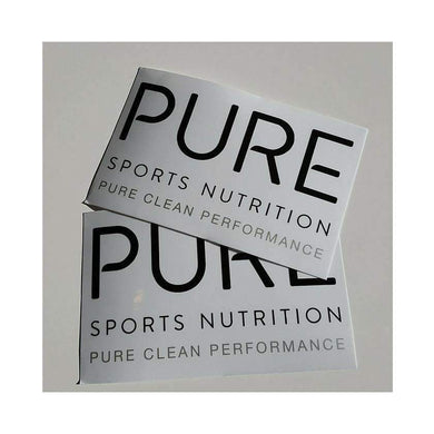 PURE Sports Nutrition:Stickers