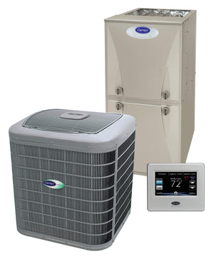 Carrier Infinity 4 Ton 16 Seer 80% Complete Gas System, Carrier Complete Gas System - Comfort Depot Gaithersburg