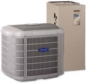 Carrier Infinity 18 Variable Speed  2 Ton Heat Pump System, Carrier Heat Pump - Comfort Depot Gaithersburg