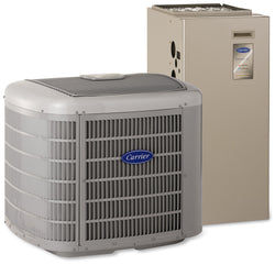 Carrier Heat Pump Equipment & Basic Install Carrier Infinity 20 GREENSPEED® 2 Ton Heat Pump System