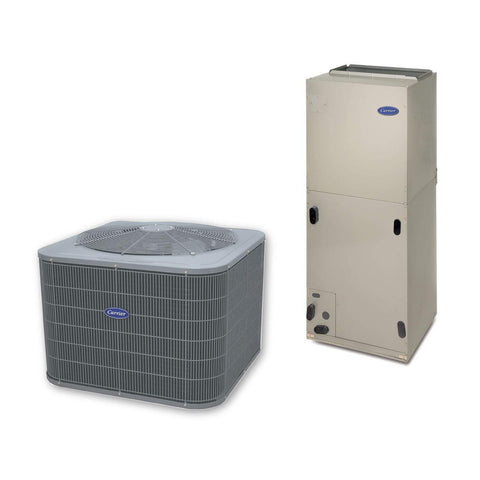 Carrier Performance 3 Ton 2 stage 16 Seer Heat Pump System, Carrier Heat Pump - Comfort Depot Gaithersburg