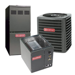 Goodman Complete Gas System Equipment Only Goodman 2 Ton 14 Seer 60K 92% Gas System