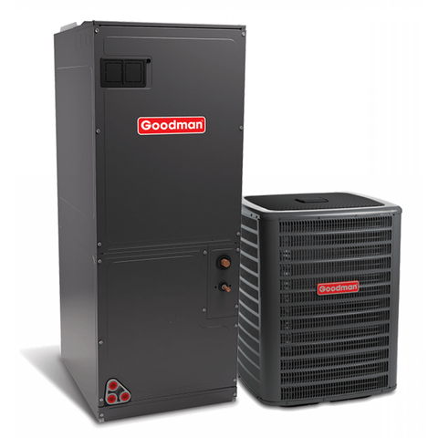 Goodman Variable Speed Heat Pump System Equipment Only Goodman 2.5 Ton 16 Seer Variable Fan Heat Pump System