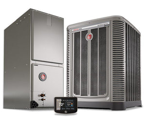 Rheem 4 Ton 17 Seer Variable Fan Invertor Heat Pump System, Heat Pump System - DIY Comfort Depot