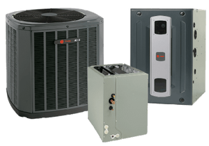 Trane 2 Ton XR16 A/C & S9X2 95% Gas Furnace Installed, Trane Complete Gas System - DIY Comfort Depot