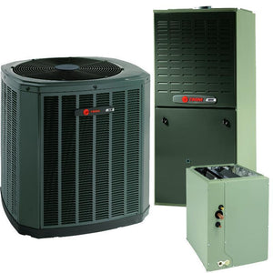 Trane 2 Ton XR16 A/C & XV80% Gas Furnace Installed, Trane Complete Gas System - DIY Comfort Depot