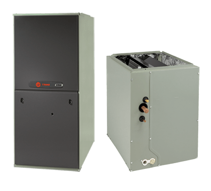 Trane 3.5 Ton XR14 A/C & XR80% Gas Furnace Installed, Trane Complete Gas System - DIY Comfort Depot