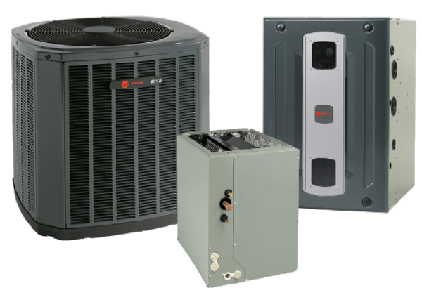 Trane 3.5 Ton XR16 A/C & S9X2 95% Gas Furnace Installed, Trane Complete Gas System - DIY Comfort Depot