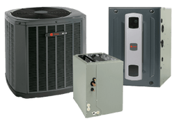 Trane 3 Ton XR16 A/C & S9X2 95% Gas Furnace Installed, Trane Complete Gas System - DIY Comfort Depot