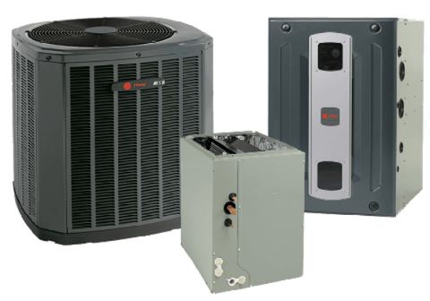 Trane 5 Ton XR16 A/C & S9X2 95% Gas Furnace Installed, Trane Complete Gas System - DIY Comfort Depot