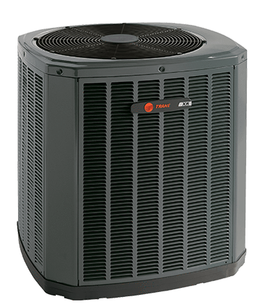 Image of Trane 3 Ton XR14 Heat Pump System Installed, Trane Heat Pump System - DIY Comfort Depot