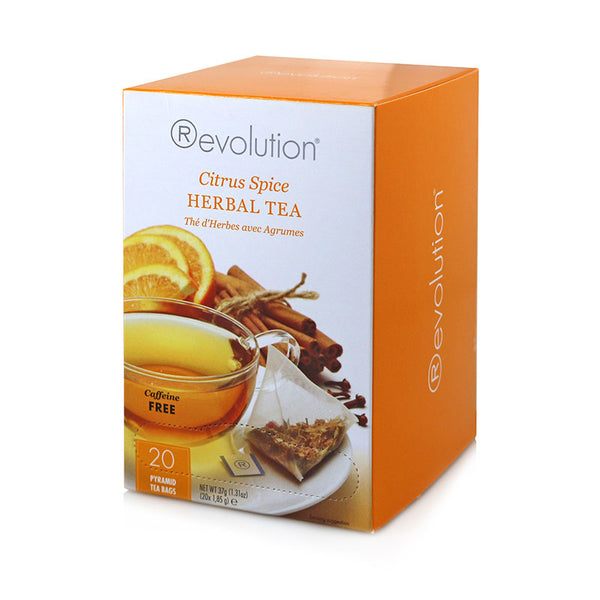 Revolution Citrus Spice Herbal Tea 20 Pyramid Bags