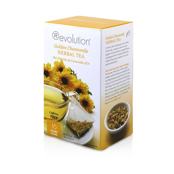 Revolution Chamomile Herbal Tea 16 Pyramid Bags