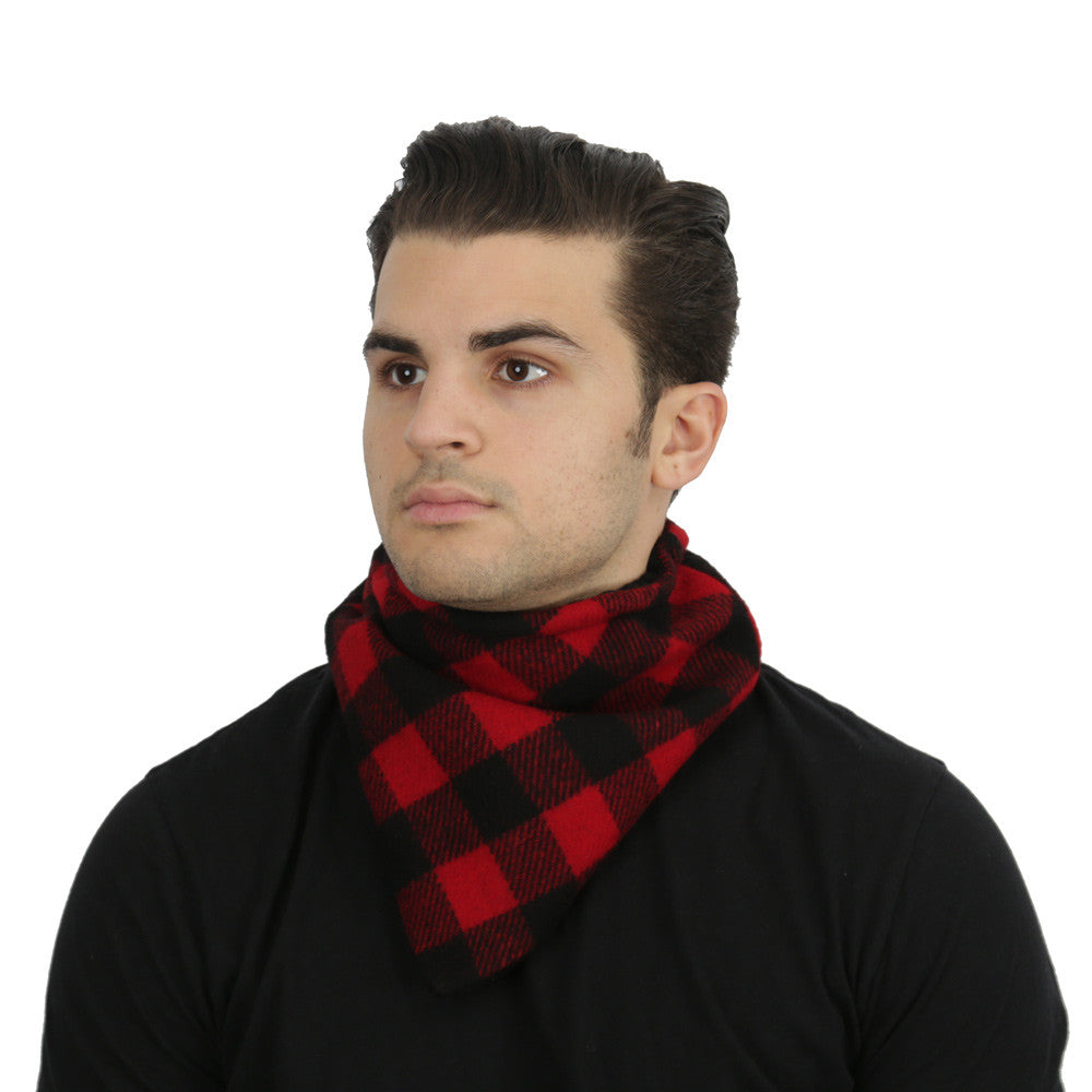 Buffalo Check Neck Warmer