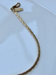 18k Gold Plated Chain Anklet