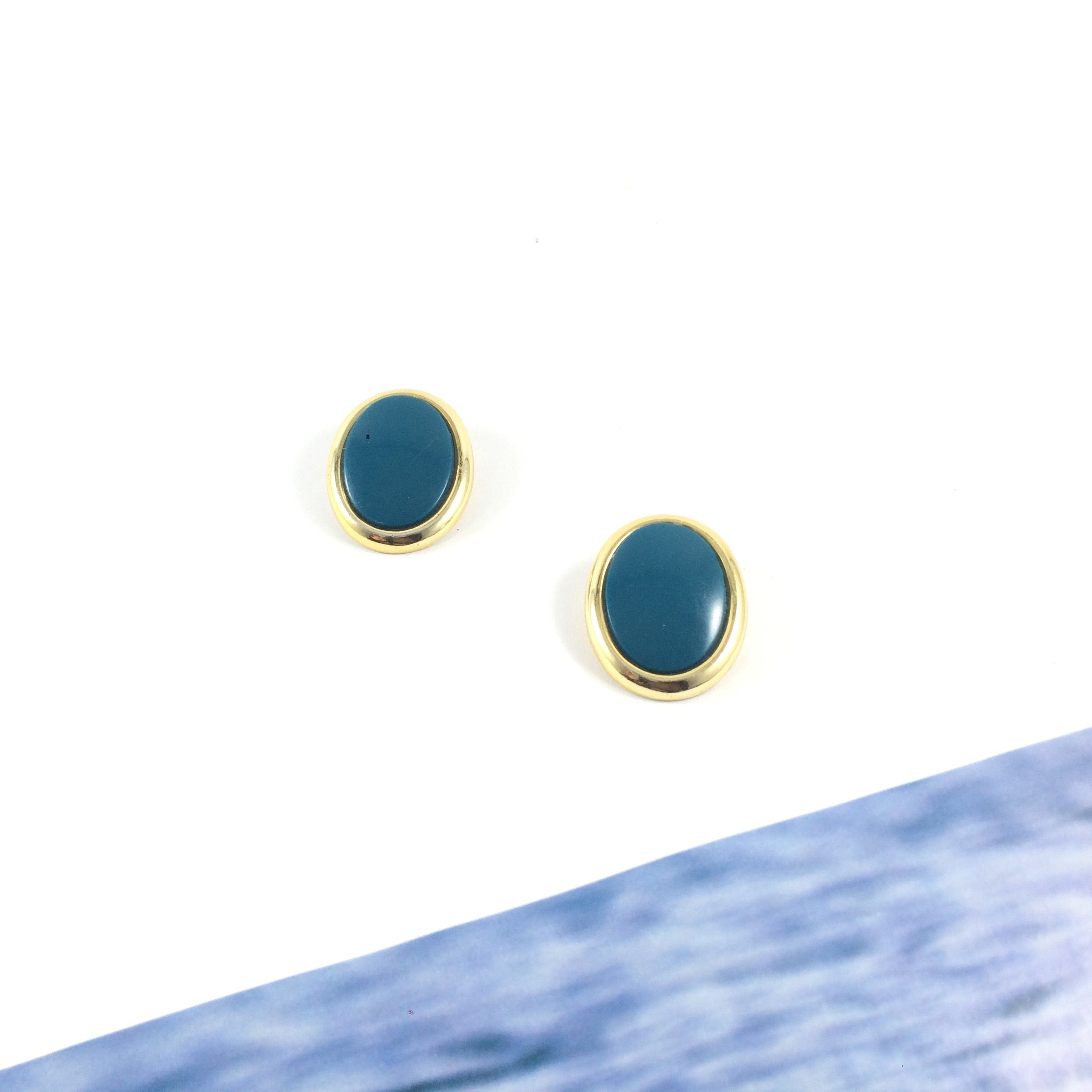 Bahama 70s Vintage Clip-on Earrings