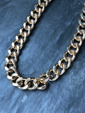 Jones New York Chunky Gold Curb Chain Necklace