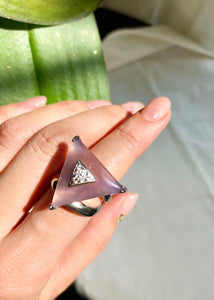 Bermuda Violitde Statement Ring