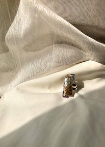 Light Year Citrine Bar Ring