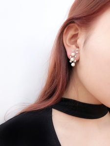 Shooting Star Pearl Earrings