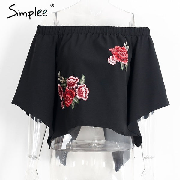 Rose Off Shoulder Blouse