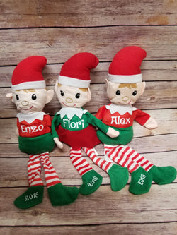 Personalized Christmas Elves