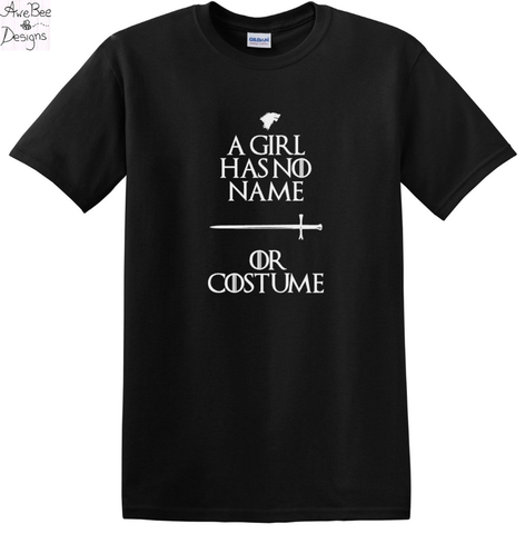 Halloween Costume, A Girl Has No Name or Costume Shirt, Vneck, or Long Sleeve