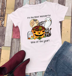 It's the Most Wonderful Time of the Year Fall Halloween Shirt