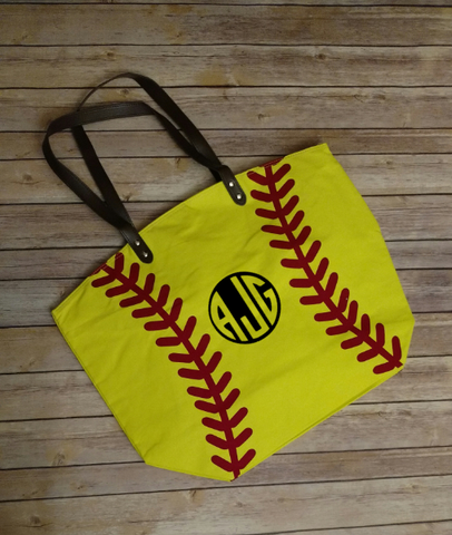 Personalized Softball Sports Bag
