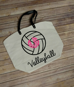 Personalized Volleyball Bag