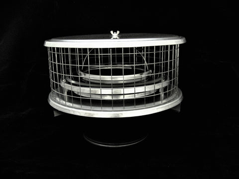 "Air Insulated Caps for Metal Chimneys - CA 1/2"" Mesh"