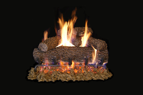 "Gas Log Set ""Blackjack Oak"" Vented (Natural Gas)"