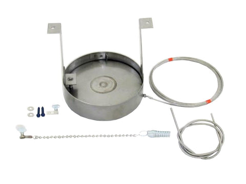 Drop-In Damper - 304 Stainless Steel