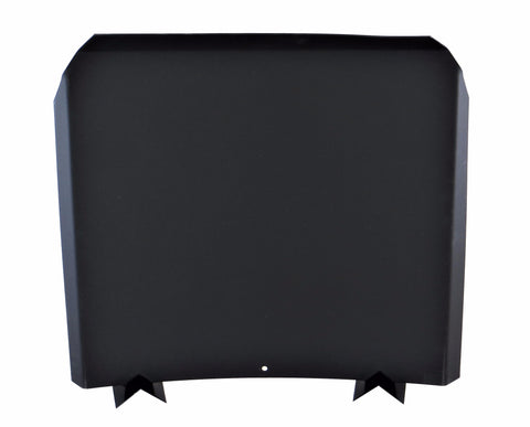 """Heat Reflector / Shield"" Fireback - Black 304 Stainless Steel"