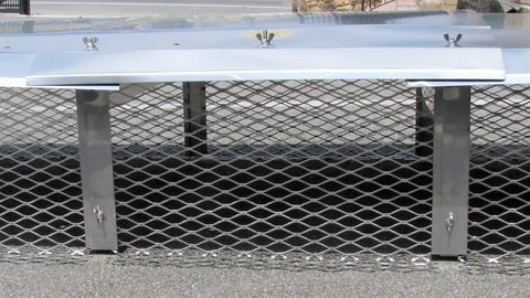 "Modular Extensions  for Stainless Steel Modular Chimney Caps - 3/4"" Mesh"