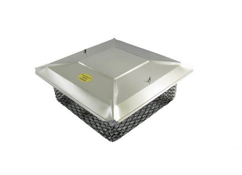 "Universal Chimney Cap for the Other 5% or 10% - Stainless Steel - 3/4"" Mesh"