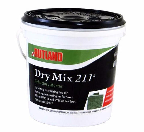 Dry Mix 211 Refractory Mortar